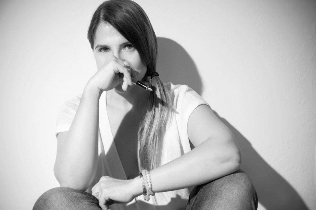 La autora Magela Gracia